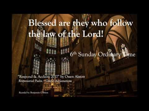 6th Sunday in Ordinary Time – 16 February 2020