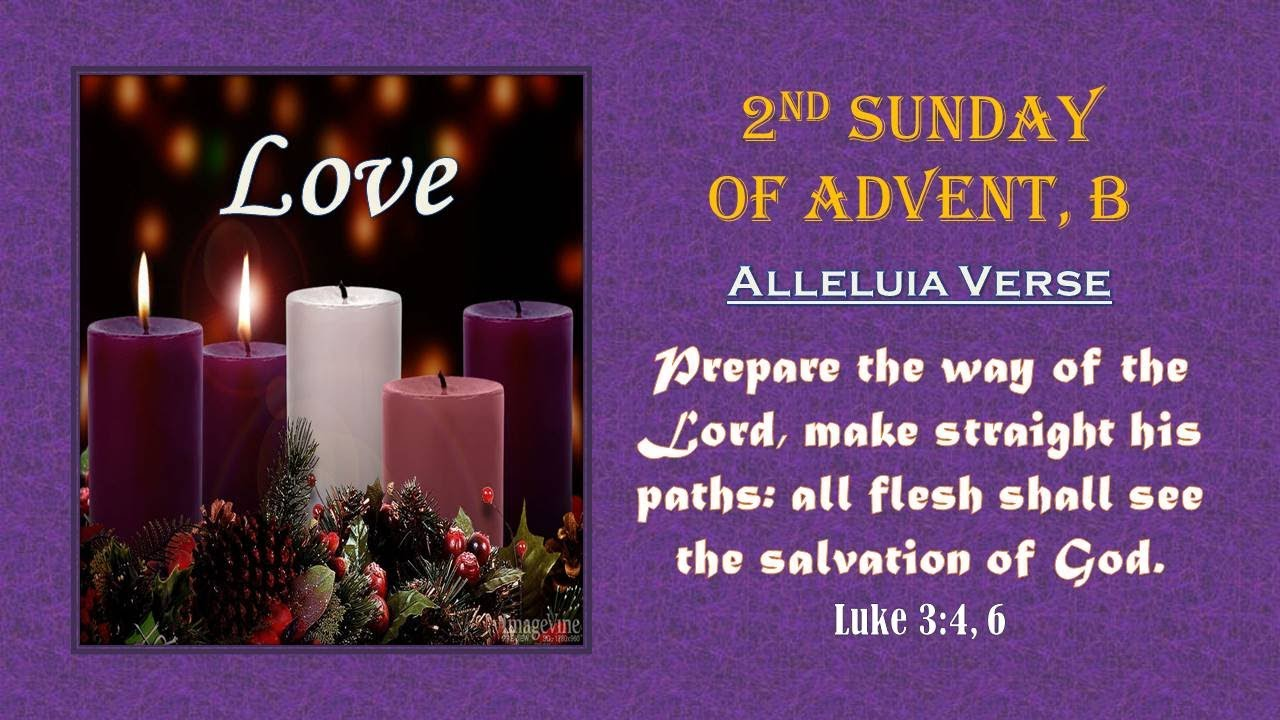 Second Sunday of Advent – 06 December 2020
