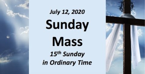 15th Sunday in Ordinary Time-12 July2020