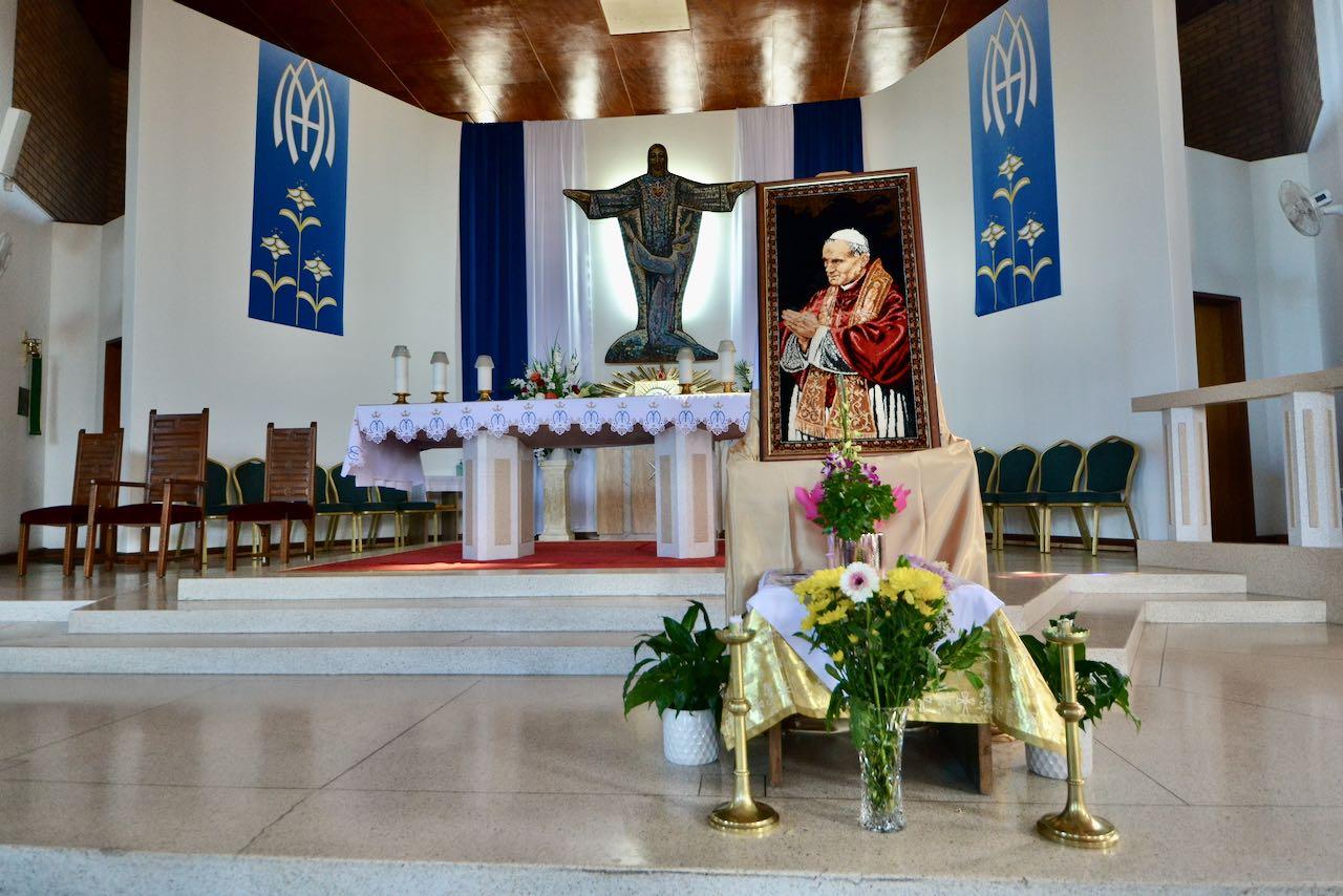 Memorial of Pope St. John Paul II