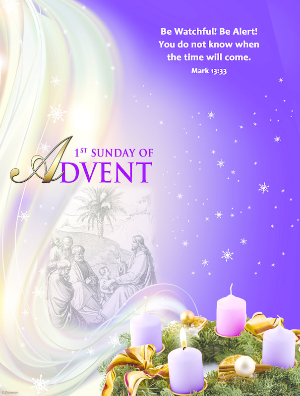 First Sunday of ADVENT (Year B)-29 November 2020