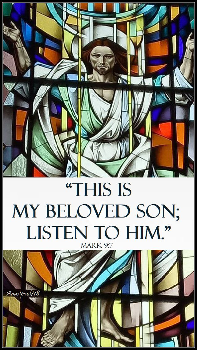 Second Sunday in Lent (Year B)-28 February 2021